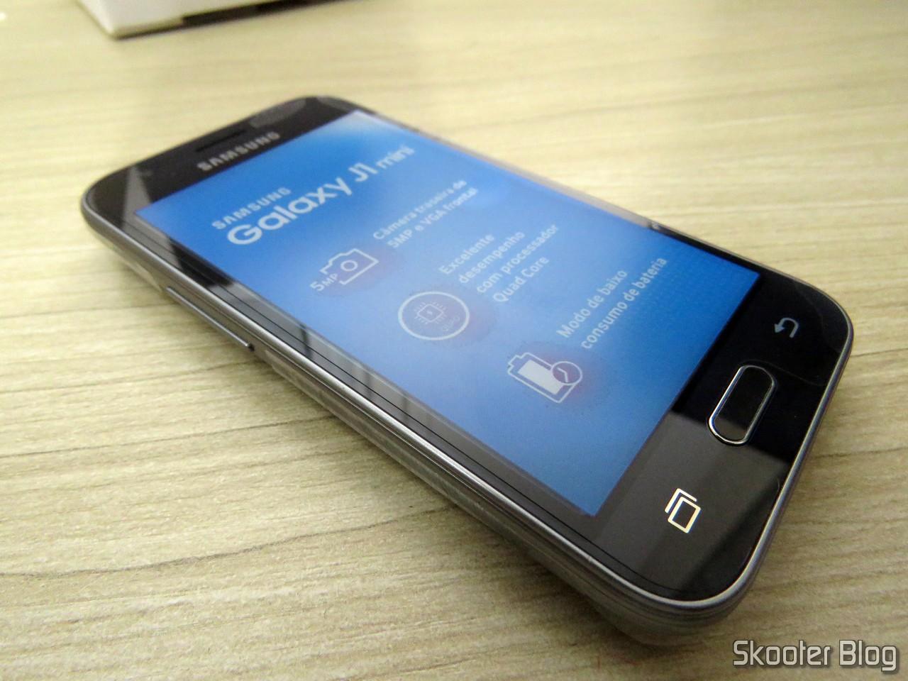 eb418230c Unboxing  Smartphone Samsung Galaxy J1 Mini Black Dual Chip Duos ...