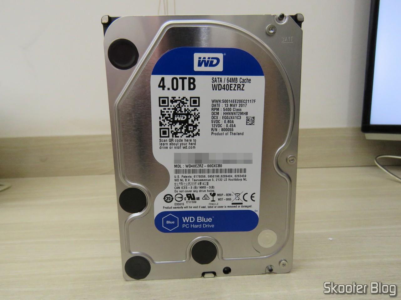 Review] HDD Western Digital Blue 4TB SATA 3 5