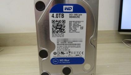 Review] HDD Western Digital Blue 4TB WD40EZRZ - AliExpress