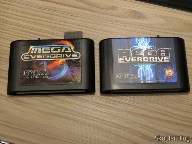 Mega EverDrive v1 e Mega EverDrive X7 - Deluxe Edition.