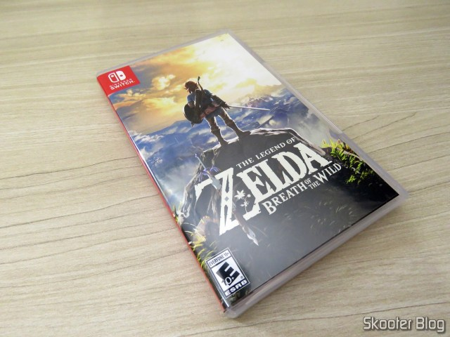The Legend of Zelda: Breath of the Wild - Nintendo Switch.