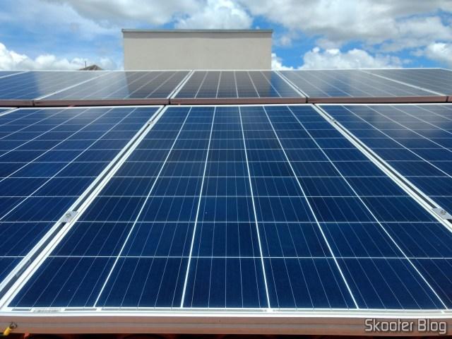 Painéis Fotovoltaicos instalados no meu telhado.