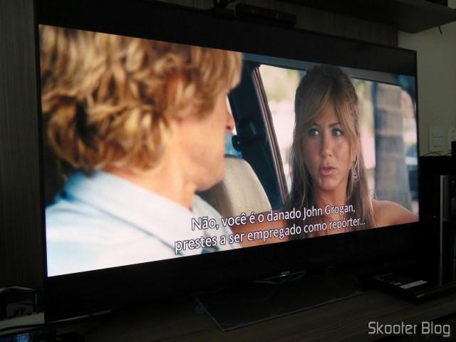 Blu-ray Player 1080p na Sony XBR-55X905E.