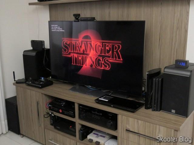 Netflix na Sony XBR-55X905E.