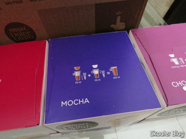 As cápsulas de Mocha.