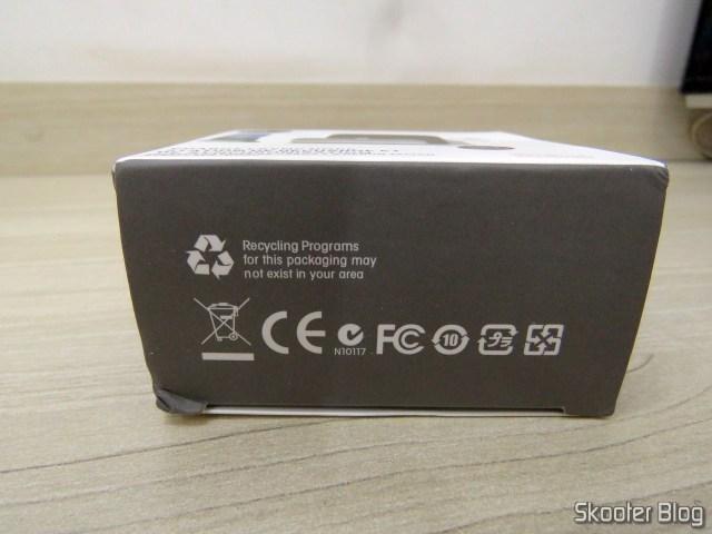 Dock Station para Celular com Plug USB Tipo C, em sua embalagem.
