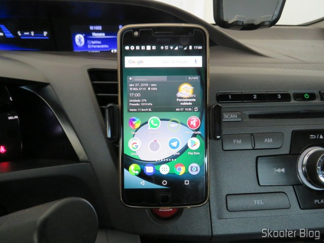 Cell phone holder for Car Ugreen to vent, operation.