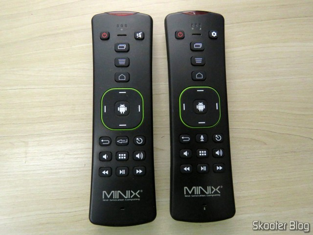 MINIX A2 Lite and MINIX A3 Air, abreast.