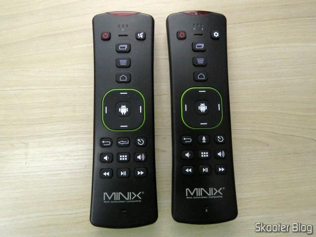 MINIX A2 Lite e MINIX A3 Air, lado a lado.