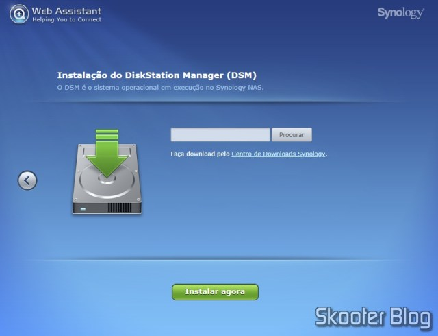 Instalando o DSM no DiskStation DS918+.
