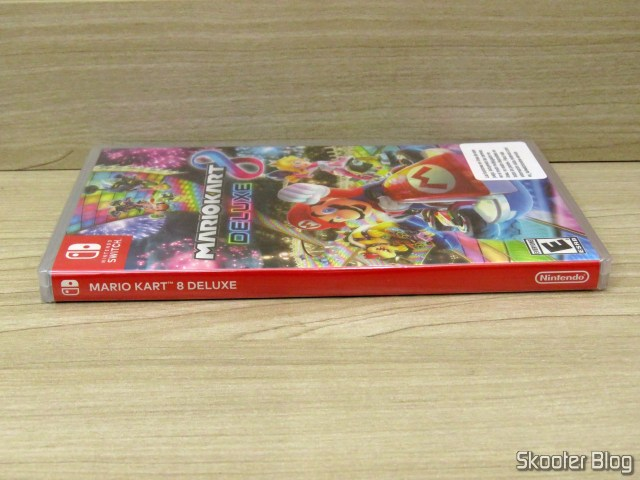 Mario Kart 8 Deluxe - Nintendo Switch, in its sealed package.