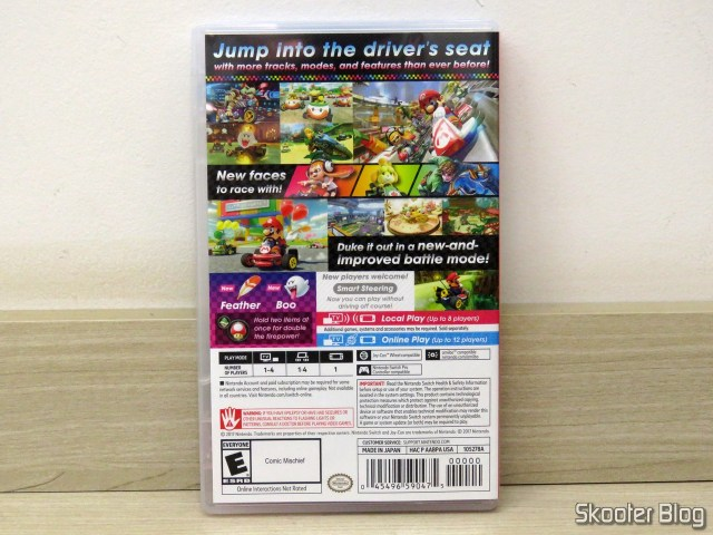 Mario Kart 8 Deluxe - Nintendo Switch, on its packaging.