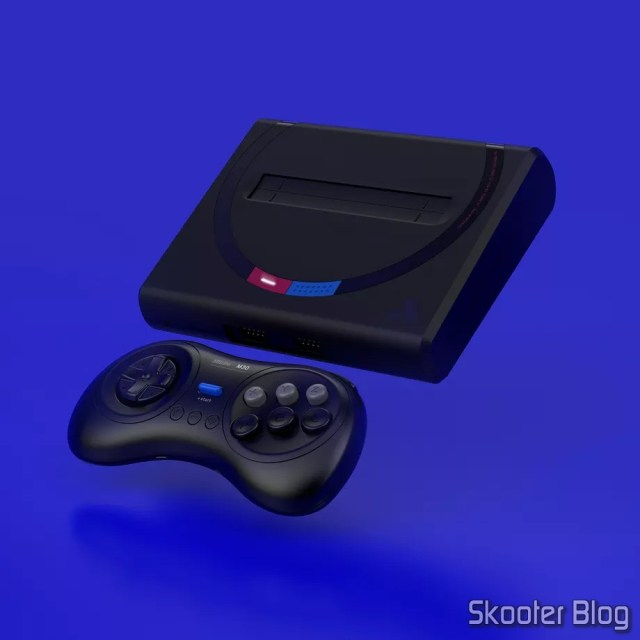 Analogue Mega Sg - Modelo Japonês