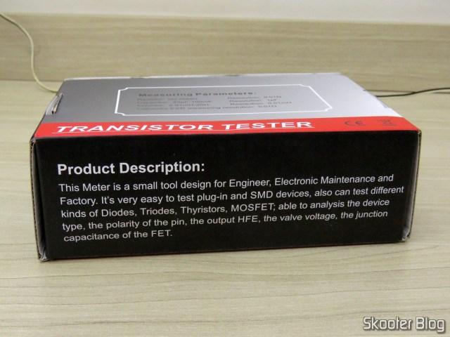 BSIDE ESR02 Pro, em sua embalagem.