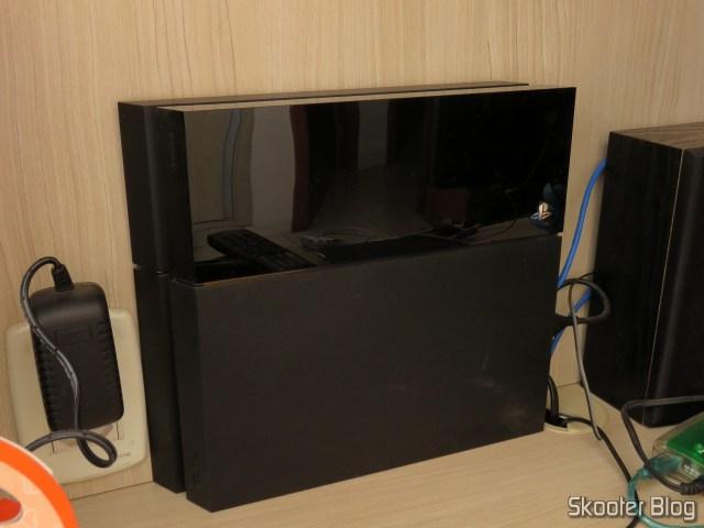 Meu Playstation 4.