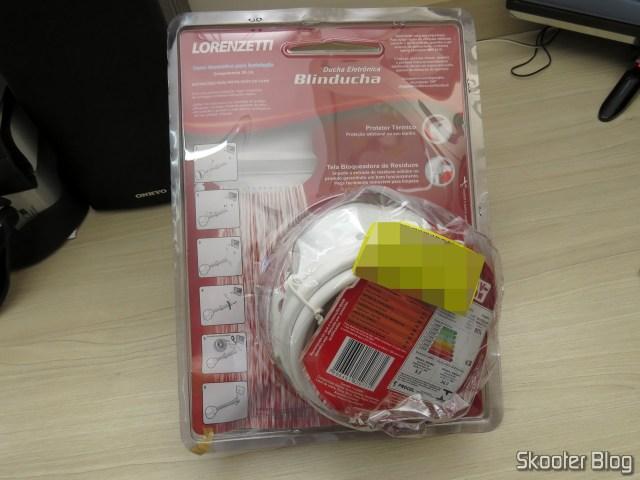 Shower Lorenzetti Blinducha Electronics, on its packaging.