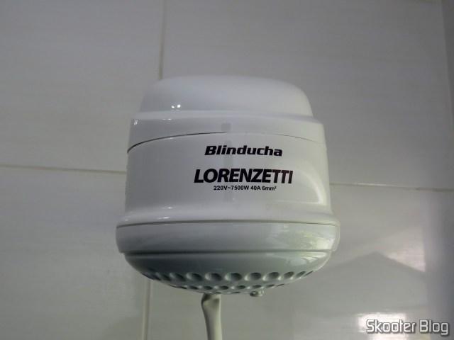 Ducha Lorenzetti Blinducha Eletrônica, installed.