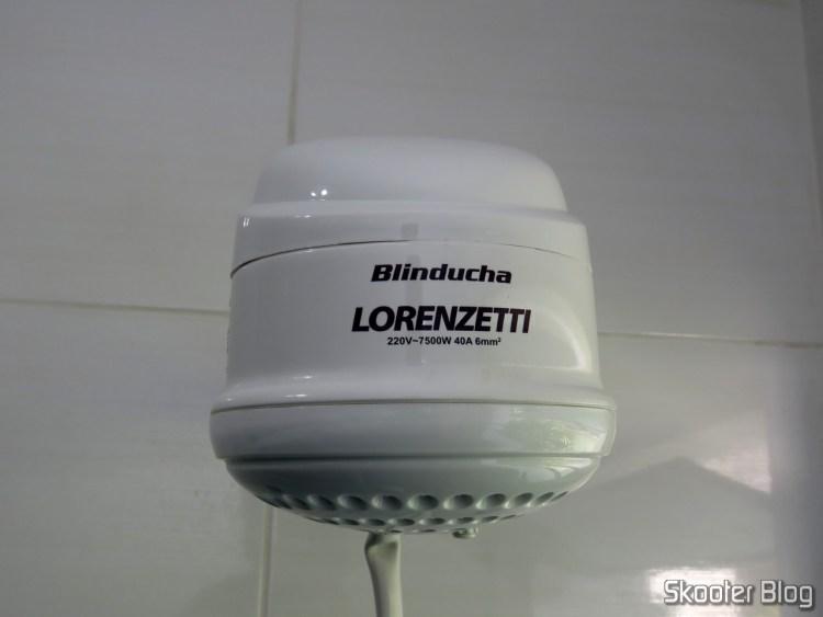Shower Lorenzetti Blinducha Electronics, installed.