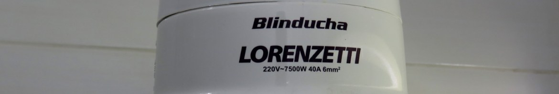 Ducha Lorenzetti Blinducha Eletrônica, instalada.