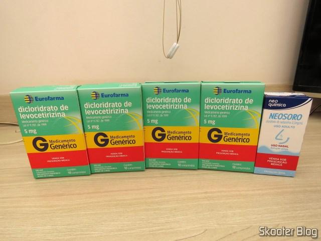 4x Levocetirizine dihydrochloride and Neosoro