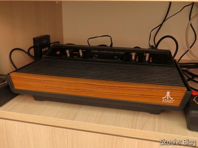 Meu Atari 2600 Woody.