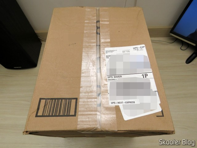 Package from Amazon with the 2nd Synology 4 Bay on the DiskStation DS918 + (Diskless).