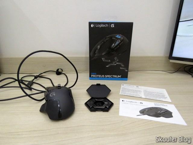 Mouse Gamer G502 Proteus Spectrum 12.000 DPI - Logitech G, e acessórios.