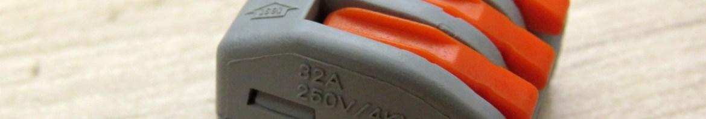Conector Wago Borne 3 Fios.
