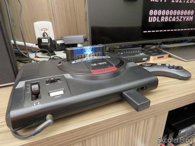 Joyzz running on my Sega Genesis.