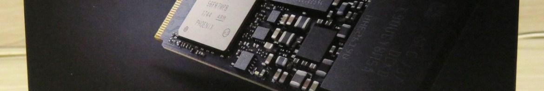 2º Samsung 970 EVO 500GB – NVMe PCIe M.2 2280 SSD (MZ-V7E500BW), em sua embalagem.