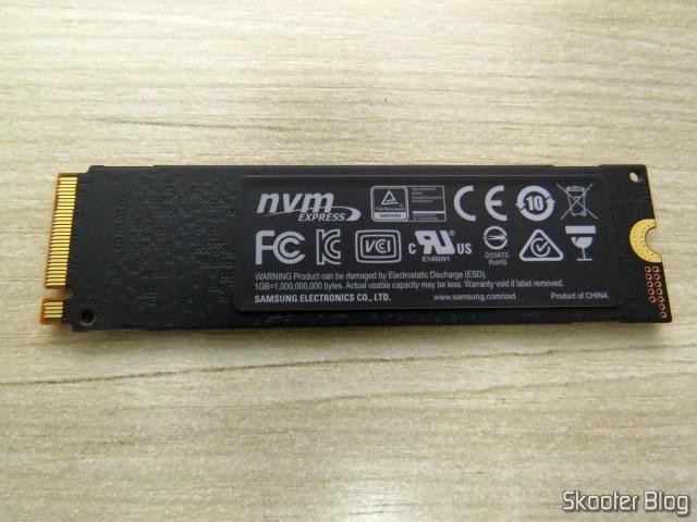 Samsung 970 EVO 500GB – NVMe PCIe M.2 2280 SSD (MZ-V7E500BW).