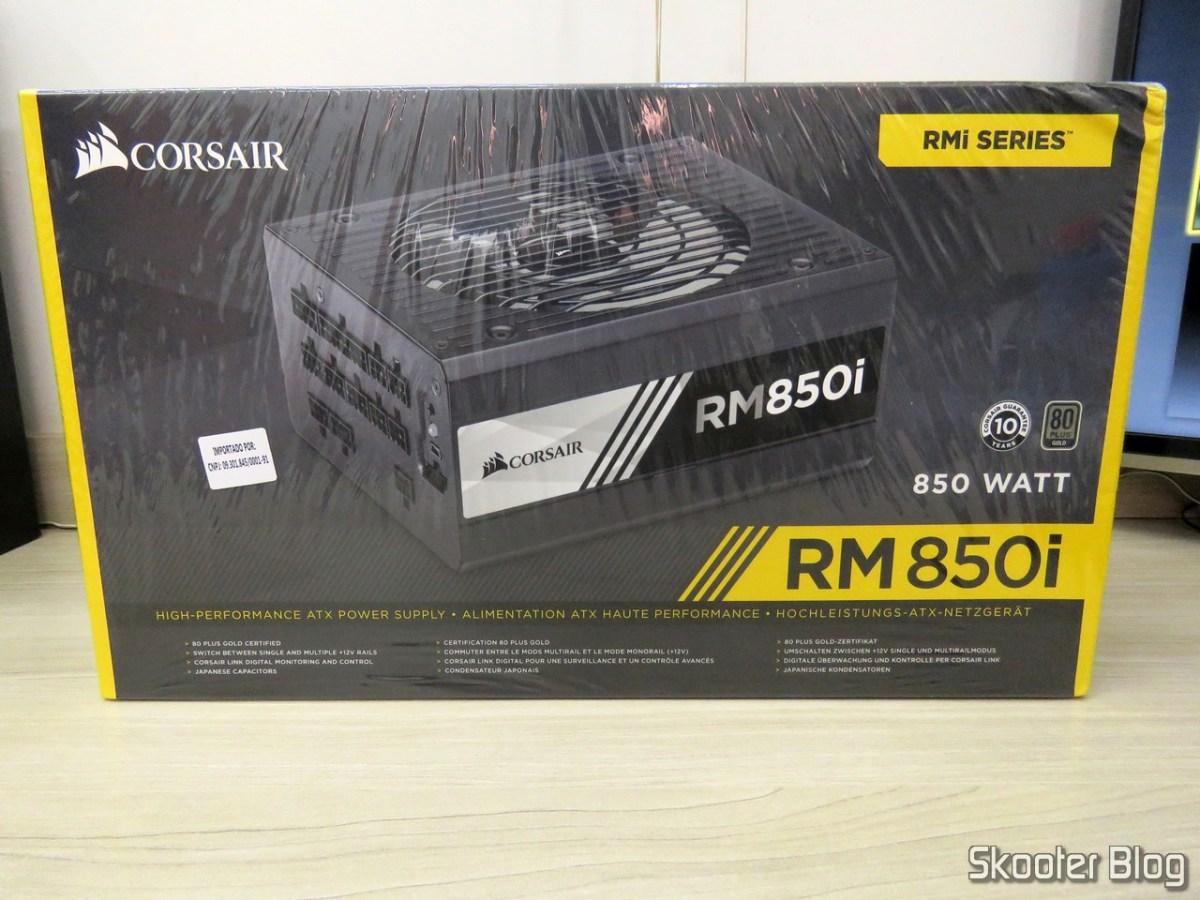 4º RMA Corsair e Fonte de alimentação Corsair RMi Series™ RM850i