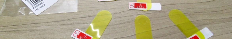 5 Películas para Xiaomi Mi Band 3 Ultra Fina Anti-Risco.