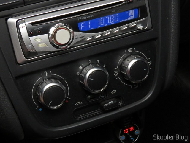 Prevention because Bluetooth Player Multifuncao, in funcionamento.Vention Bluetooth Car Player Multifunction, operation.