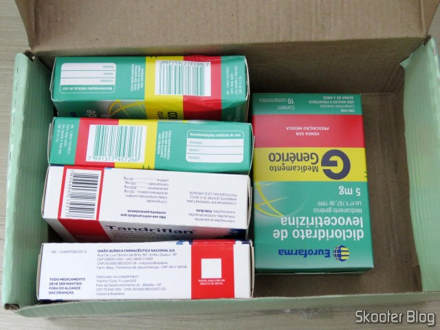 2x Tandriflan and 3 x Levocetirizine dihydrochloride - Drugstore New Hope - 5# Request