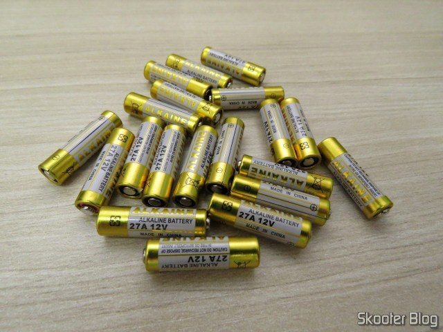 20 27A 12V alkaline batteries.