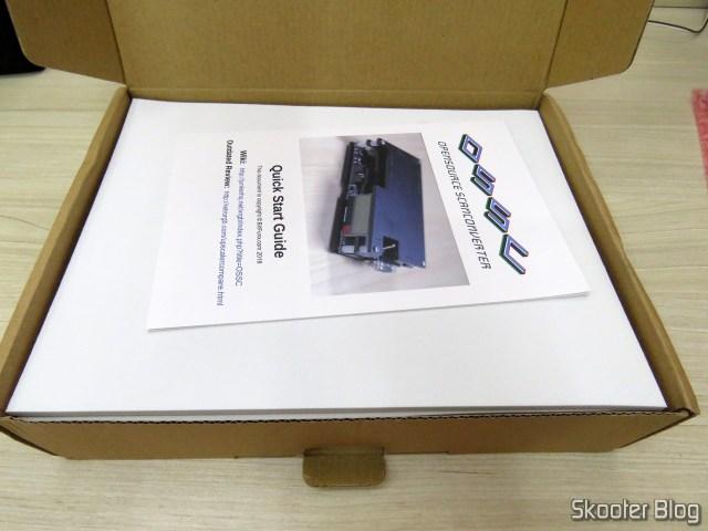 OSSC em sua embalagem.