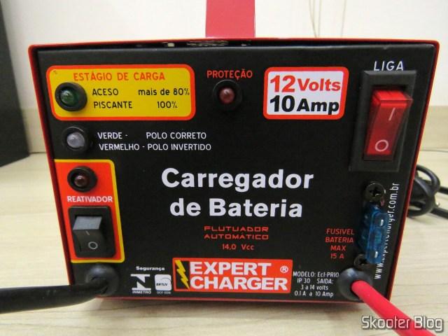 Carregador de Baterias 12V Expert Charger PR10.