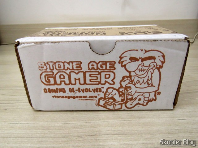 the Stone Age Gamer box with the new board X7 Mega Everdrive.