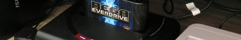 Teste da nova placa do Mega Everdrive X7 no Analogue Mega Sg.