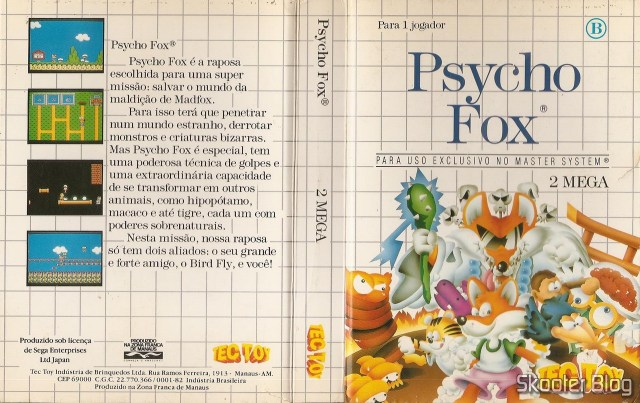 Tec Toy Case for Psycho Fox.