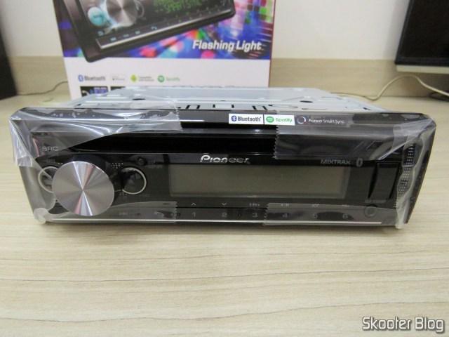 Car Audio Pioneer CD MP3 Player AM / FM - Bluetooth USB Auxiliar DEH-X500BR.