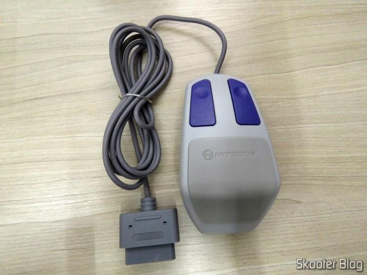 Mouse Óptico para Super Nintendo Hyperkin Click Retro Style Mouse.