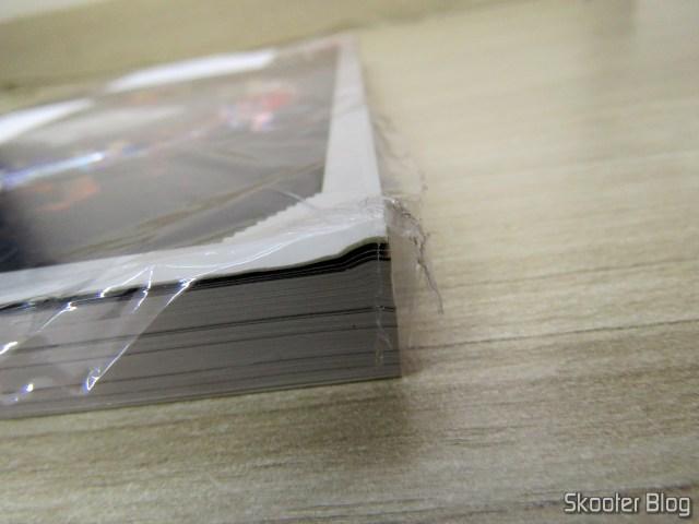 Dossiê OLD!Gamer: Dreamcast - Volume 15, em sua embalagem, com um belo amassado.