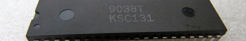 Chip TIA do Atari 2600.
