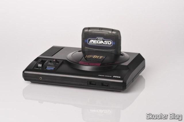 MegaSD no Mega Drive