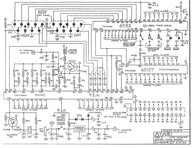 Scheme Atari 2600.