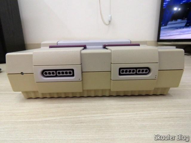 Meu Super Nintendo antes de ser aberto pela primeira vez em 27 anos.