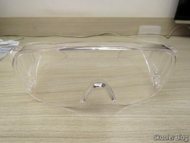 Safety glasses antirrisco polycarbonate UV protection transparent VISION 2000 3M.