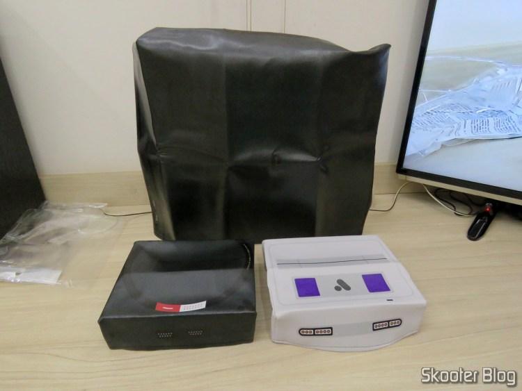 Capas para Consoles do Printer Boy: Analogue Super Nt, Analogue Mega Sg e Playstation 4 Pro.
